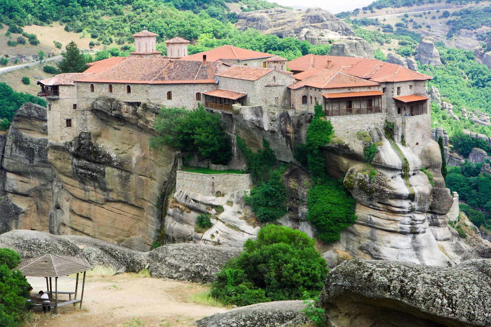 Varlaam Monastery, Meteora, Greece  № 10829 загрузить
